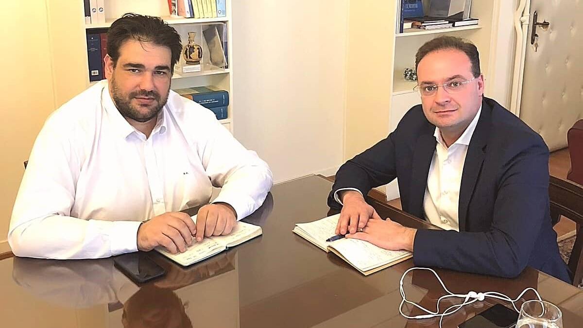 Τη δυναμική αναβάθμιση της επιστημονικής στελέχωσης του Δήμου Αριστοτέλη συμφώνησαν ο Δήμαρχος Στ.Βαλιάνος και ο Υφυπουργός Εσωτερικών Θ.Λιβάνιος