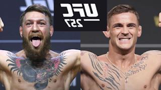 Gratis podras ver el pesaje de UFC 257 Poirier vs McGregor 22-1-2021