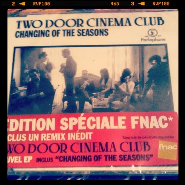 Two Door Cinema Club - Changing of the Seasons  maxi cd fnac