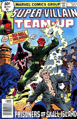 Super-Villain Team-Up #16, the Red Skull and Hate Monger