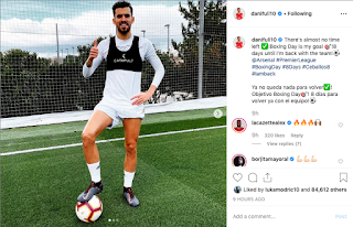 Ceballos targets Boxing Day return while continuing recovery following an injury