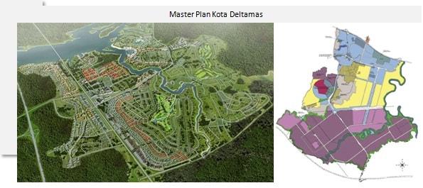 Peta Wilayah Kota Deltamas