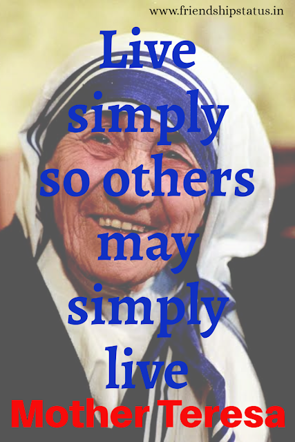 Mother Teresa Quotes on Education