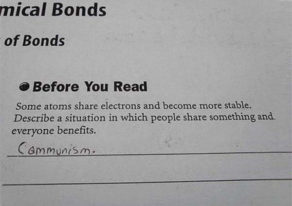 Here Are 25 Kids That Gave Absolutely Brilliant Answers On Their Tests. These Are Hysterically Genius. - Fair point