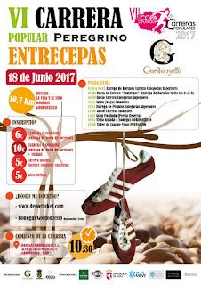 Carrera Peregrino Entrecepas 2017