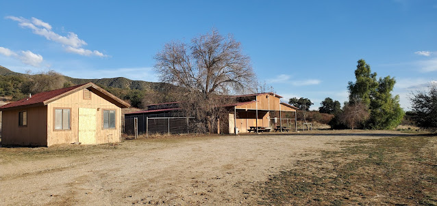 Newer stables, Hunt Ranch, Wildwood Canyon State Park