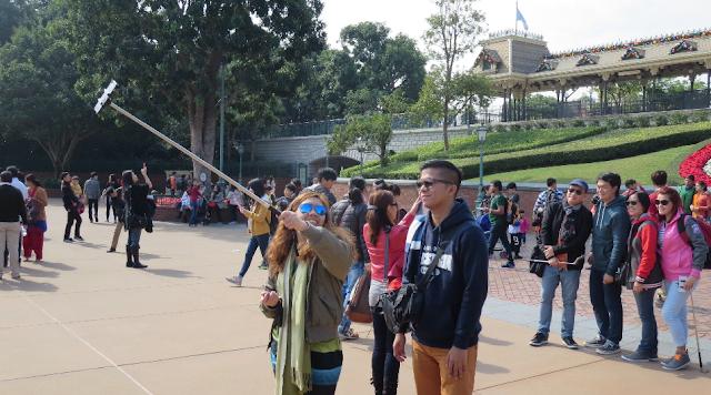 Pau de selfie na Disney Orlando