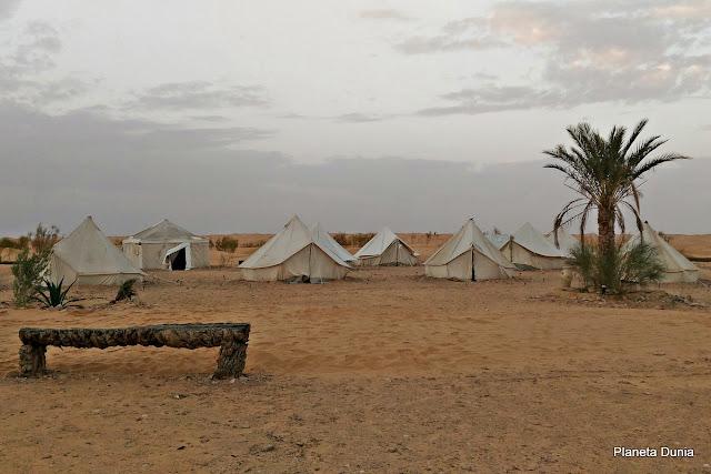 Alojamiento en el desierto