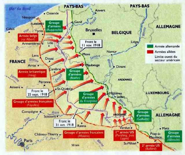 Offensive menée par le général Foch en 1918