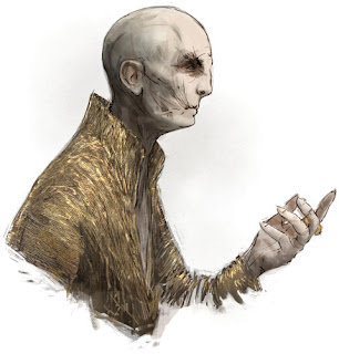 Supreme Leader Snoke (Illustrated by Rowley)