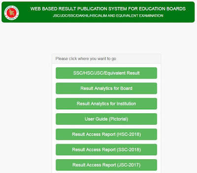 how to get ssc result online