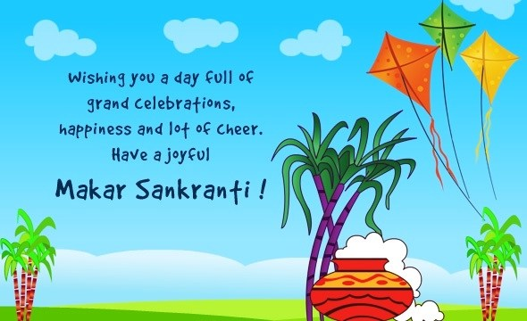 Happy Makar Sankranti Images in English