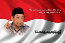 Inilah 5 jejak perjuangan Gus Dur untuk Indonesia