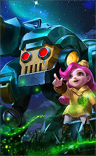 Jawhead Girl Scout Heroes Fighter of Skins V2
