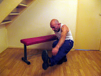 Assisted one legged squat is an advanced leg exercise