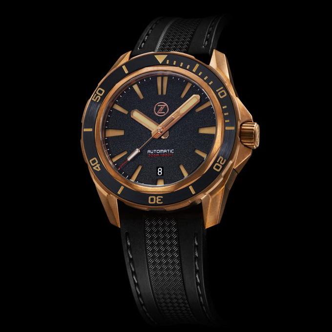OceanicTime - ZELOS Swordfish Diver BRONZE | Borealis Watch Forum: Open to All WIS and Watch Collectors
