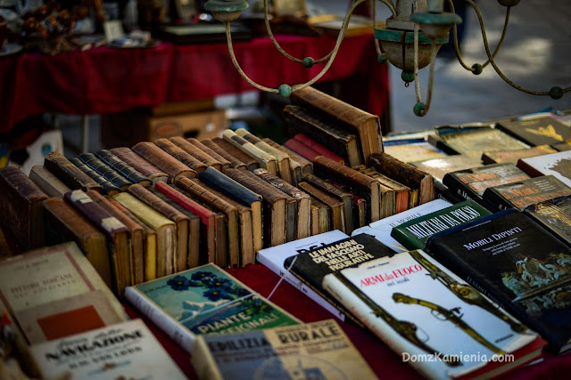 old books Dom z Kamienia Florence