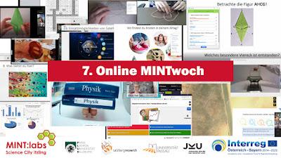 7. Online MINTwoch - einfach von zu Hause oder von der Schule aus mitexperimentieren
