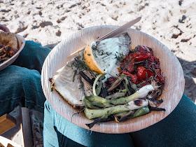 Riley's Fish Shack, Tynemouth: turbot dish