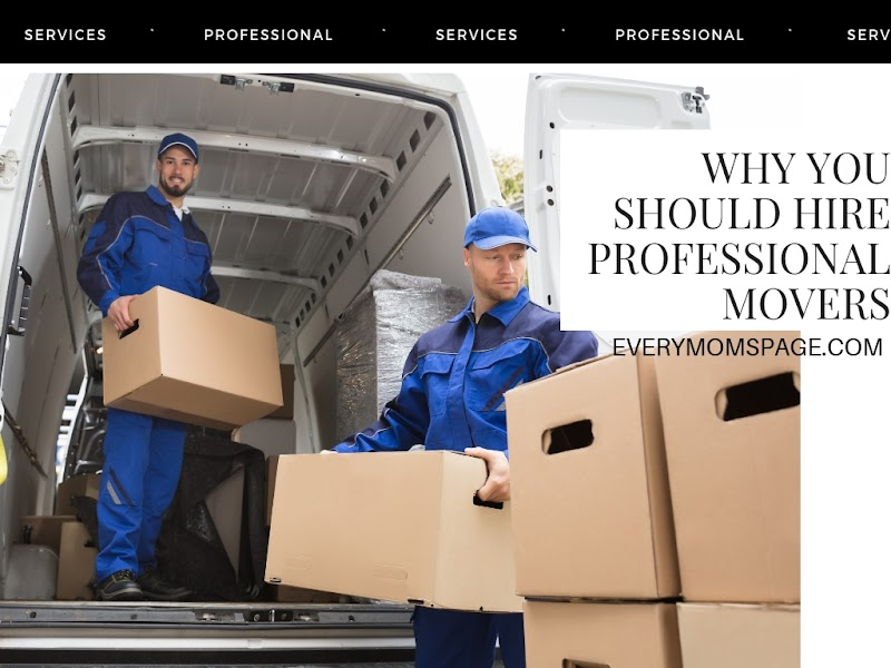 Why You Should Hire Professional Movers