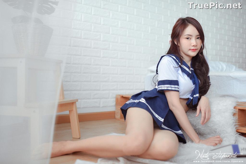 Image Thailand Model - Nattanicha Pw - Japanese School Girl Uniform - TruePic.net - Picture-10