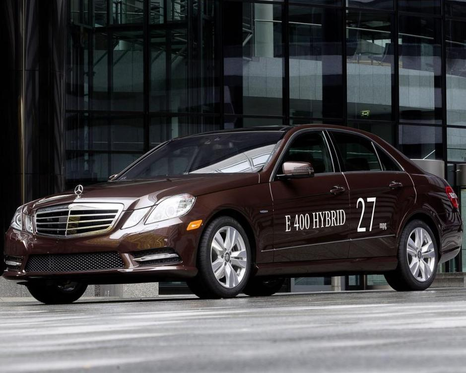 Mercedes benz e300 bluetec and e400 hybrid cars revealed for Mercedes benz e400 hybrid