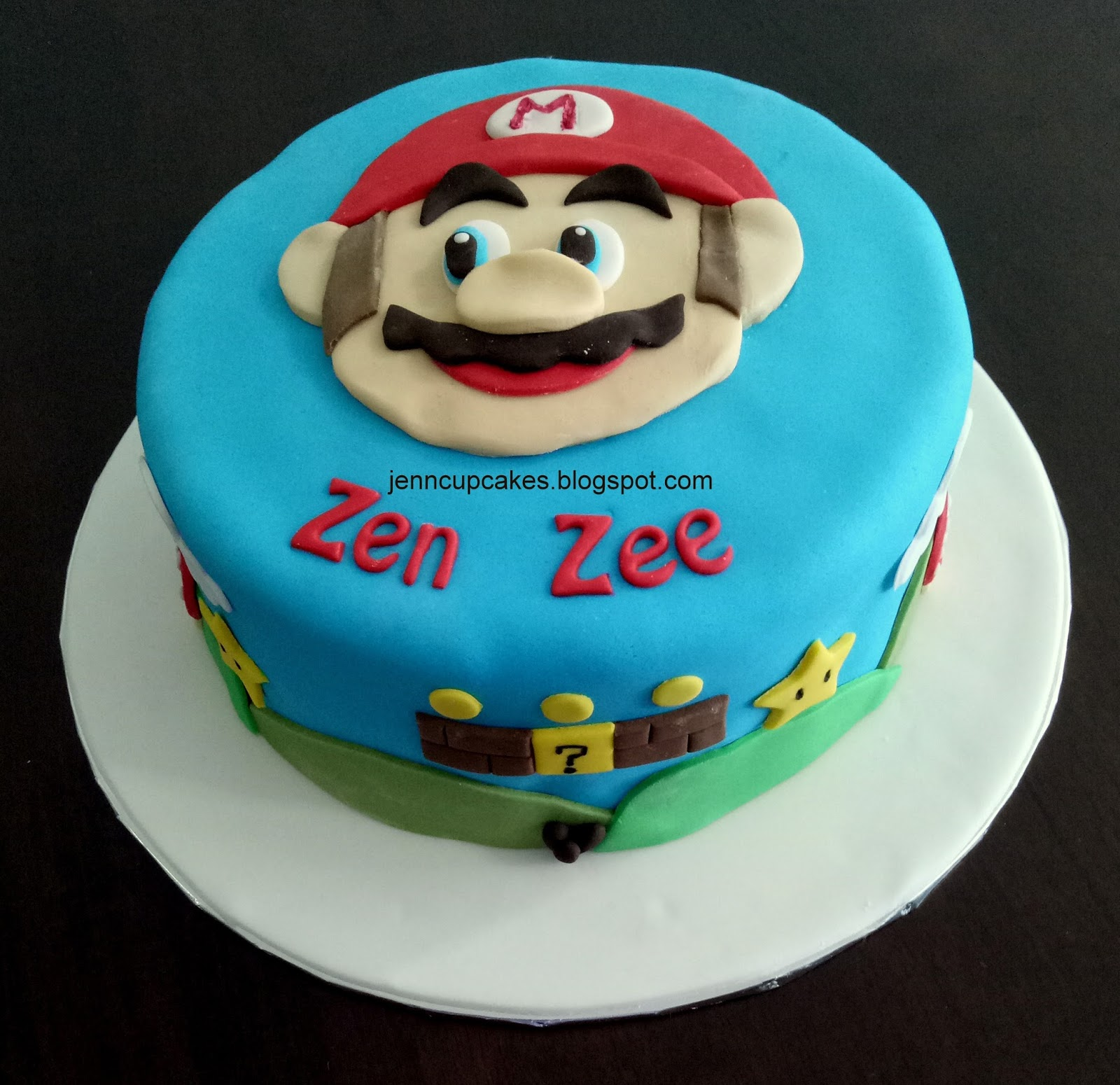 Jenn Cupcakes & Muffins: Super Mario Cake