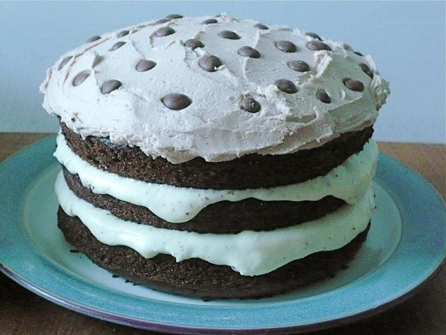 Asda Triple Chocolate Cake