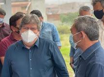 REMÍGIO - Governador visitou a cidade nesta Quinta-feira