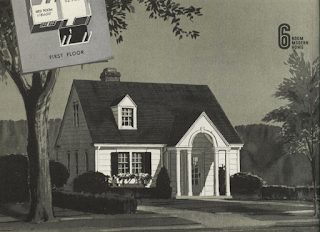 b&w image of  Sears Lorain in the 1940 catalog