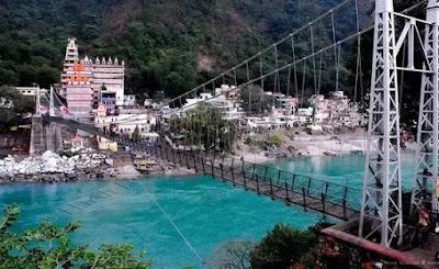 laxman jhula ganga river