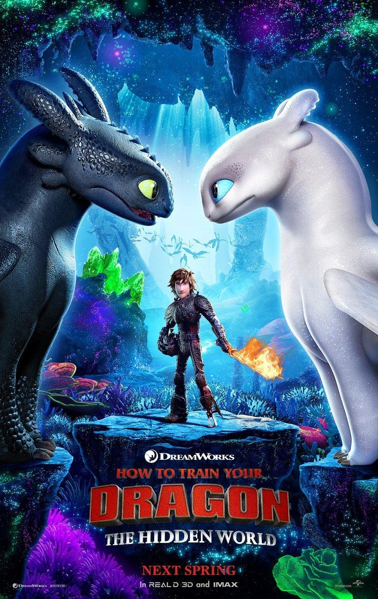 Download How To Train Your Dragon The Hidden World (2019) Full Movie in Hindi Dual Audio BluRay 720p [1GB]