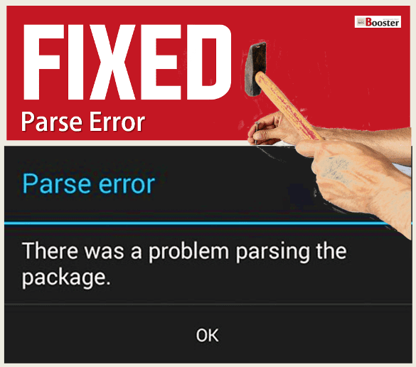 Fix There Was A Problem Parsing The Package - Parse Error