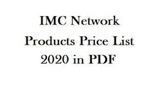 IMC Products Price List