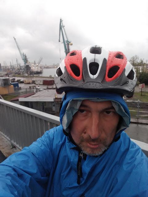 порт в Батуми селфи