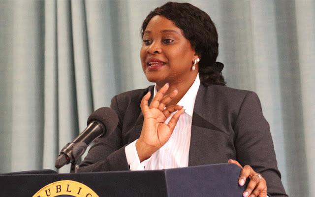 State House Spokesperson Ms. Kanze Dena on BBI. PHOTO | PSCU