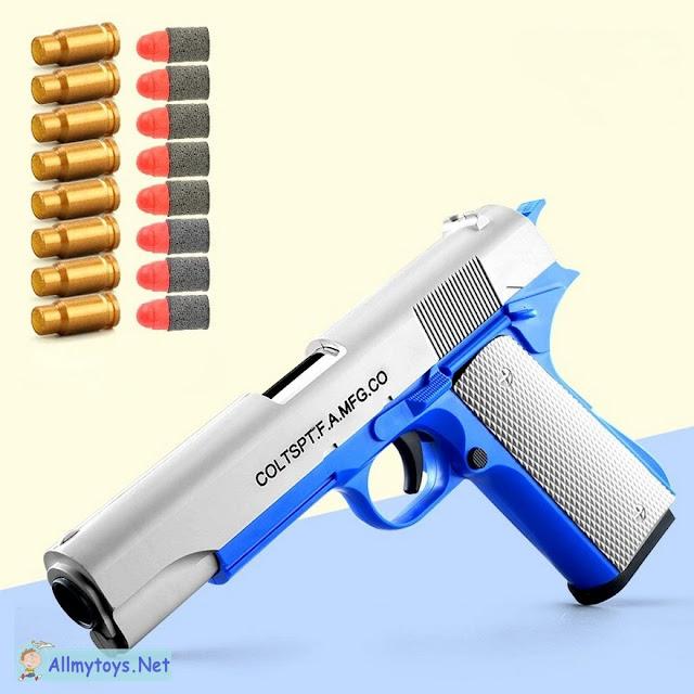 Colt 1911 Shells Ejecting Realistic Toy Gun 3
