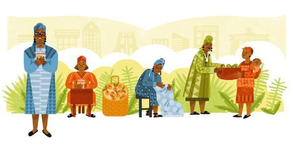 Google doodle honors Ghanaian entrepreneur Esther Afua Ocloo