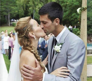 Novak Djokovic S Wedding Photo