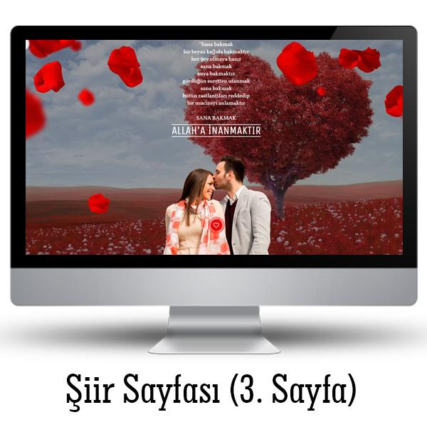 Sevgililere Özel İnternet Sitesi
