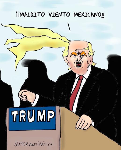 Maldito viento mexicano!