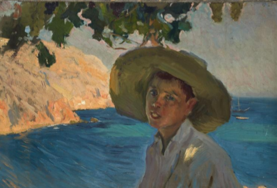 The Sorolla painting that has been least exposed