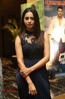 Actress Rakul Preet Singh Stills in Beautiful Blue Long Dress at Dhruva Salute to Audience Event  0031.JPG