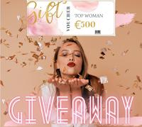 Top Woman Shop : vinci gratis Gift Card da 500 euro