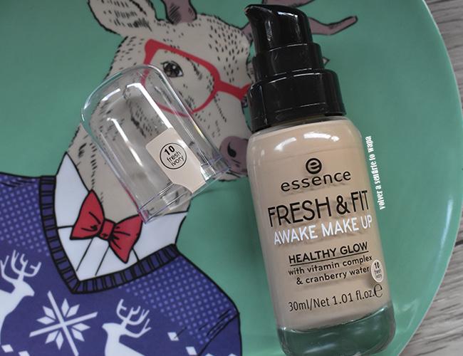 Base de Maquillaje Fresh & Fit de ESSENCE