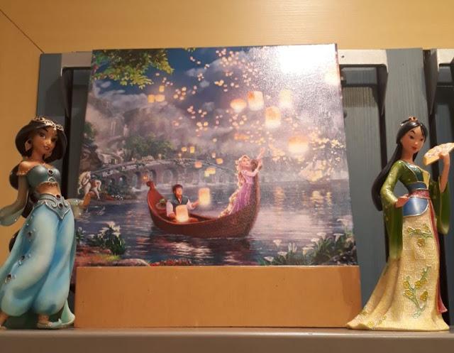 Tangled Lantern scene from the Disney Movie