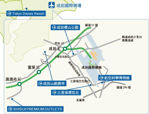 成田機場周遭的推薦景點