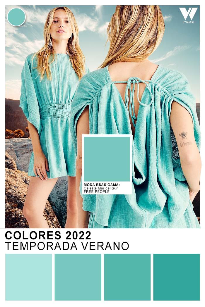 colores de moda primavera verano 2020 moda mujer