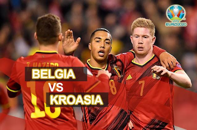 Prediksi Belgia Vs Kroasia 7 Juni 2021