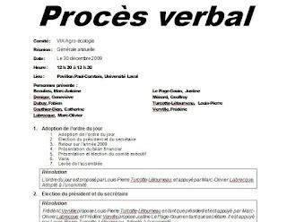 exemple de procès verbal pdf,  proces verbal de reunion de travail, contenu d'un procès verbal,  modèle de pv de réunion word,